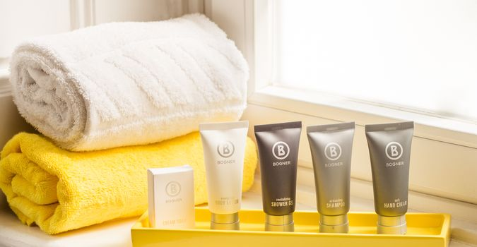 Guest Supplies von Bogner im HiLight Suites Hotel