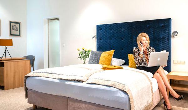 Kingsize Bett Junior Suite ©Hilight Suites Hotels